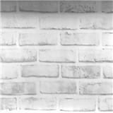Samolepící fólie cihla klasik šedá 45 cm x 10 m