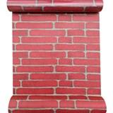 Samolepící fólie nepravidelná cihla klasik červená 45 cm x 10 m