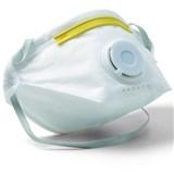 Jemná prachová maska, s výdechovým ventilem, skládací, FFP1