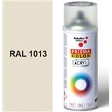 Sprej bílý lesklý 400ml, odstín RAL 1013 barva perlově bílá lesklá