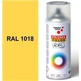 Sprej slunečně žlutý lesklý 400ml, odstín RAL 1018 barva slunečně žlutá lesklá