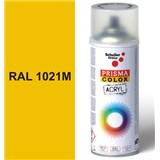 Sprej žlutý matný 400ml, odstín RAL 1021M barva žlutá matná