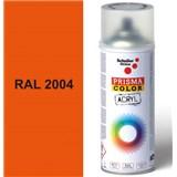 Sprej oranžový lesklý 400ml, odstín RAL 2004 barva oranžová lesklá