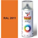 Sprej oranžový lesklý 400ml, odstín RAL 2011 barva oranžová lesklá