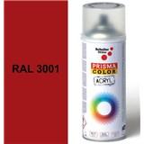 Sprej signální červený lesklý 400ml, odstín RAL 3001 barva signální červená lesklá