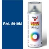 Sprej modrý matný 400ml, odstín RAL 5010M barva enciánová modrá matná