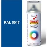 Sprej modrý lesklý 400ml, odstín RAL 5017 barva dopravní modrá lesklá