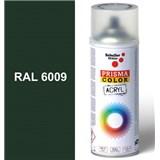 Sprej zelený lesklý 400ml, odstín RAL 6009 barva jedlově zelená lesklá