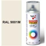 Sprej krémový matný 400ml, odstín RAL 9001M barva krémově matná