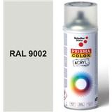 Sprej šedý lesklý 400ml, odstín RAL 9002 barva bílo šedá lesklá