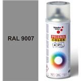 Sprej šedý lesklý 400ml, odstín RAL 9007 barva šedá hliníková lesklá