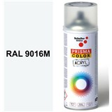 Sprej dopravní bílý matný 400ml, odstín RAL 9016M barva dopravní bílá matná