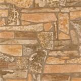 Tapety na zeď Stones and Style - horský kámen