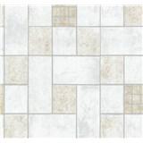 Vliesové tapety na zeď Easy Wall obklad hnědo-šedý
