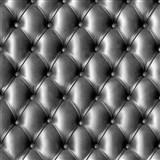 Papírové tapety na zeď IMPOL koženka s knoflíky černá