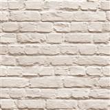 Vliesové tapety na zeď Just Like It kamenná zeď světle hnědá - POSLEDNÍ KUS