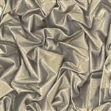 Vliesové tapety na zeď Virtual Vision 3D látka s flitry hnědá