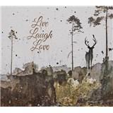 Luxusní vliesové fototapety jelen, rozměr 300 cm x 270 cm