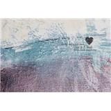Luxusní vliesové fototapety srdce, rozměr 400 cm x 270 cm