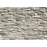 Fototapety kamenná zeď The Wall rozměr 366 cm x 254 cm - POSLEDNÍ KUSY