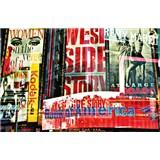 Fototapety Times Square Neon Stories rozměr 175 cm x 115 cm - POSLEDNÍ KUSY