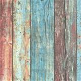 Vliesové tapety na zeď IMPOL Wood and Stone 2 barevné dřevěné desky