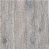 Vliesové tapety na zeď IMPOL Wood and Stone 2 dřevo s patinou tmavě hnědé