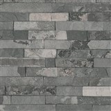 Vliesové tapety na zeď IMPOL Wood and Stone 2 obkladový kámen štípaná břidlice šedá