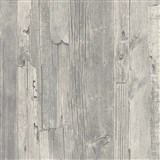 Vliesové tapety IMPOL Wood and Stone 2 dřevo vintage šedé