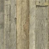 Vliesové tapety IMPOL Wood and Stone 2 vintage style dřevo přírodní hnědá
