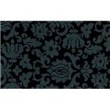 Samolepící tapety Classic ornament černý 45 cm x 15 m