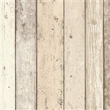 Vliesové tapety na zeď Wood´n Stone dřevěné desky světle hnědé