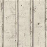 Vliesové tapety na zeď Wood´n Stone desky dřevěné hnědé