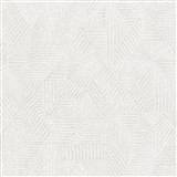 Luxusní vliesové tapety na zeď Avalon geometrický vzor světle šedý