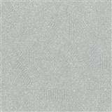 Luxusní vliesové tapety na zeď Avalon geometrický vzor šedý