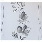 Vliesové tapety na zeď My Feels květy šedé