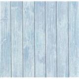 Vliesové tapety na zeď Bread & Butter prkna modro-fialové - POSLEDNÍ KUS