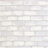 Vliesové tapety na zeď Bread & Butter cihla šedá