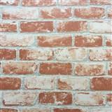 Vliesové tapety na zeď Bread & Butter cihla červená