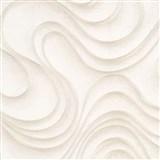 Luxusní vliesové tapety na zeď Colani Evolution vlnovky béžové
