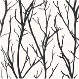Vliesové tapety na zeď IMPOL větve černé