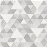 Vliesové tapety na zeď Inspiration Wall geometrický vzor moderní šedý