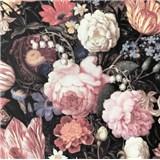 Vliesové tapety na zeď velké barevné květy