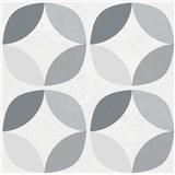 Vinylové samolepící podlahové čtverce Classic geometrický vzor rozměr 30,5 cm x 30,5 cm