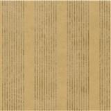 Vliesové tapety na zeď La Veneziana - pruhy zlatohnědé s metalickým efektem
