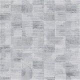 Vliesové tapety na zeď Ella strukturované kostky šedo-stříbrné