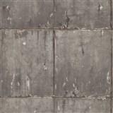 Vliesové tapety na zeď IMPOL Instawalls 2 betonové panely šedo-zlaté