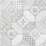 Vliesové tapety na zeď IMPOL Eyecatcher marokánský vzor šedý