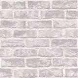 Vliesové tapety na zeď Exposure cihly bílé