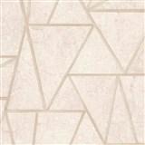 Vliesové tapety na zeď Exposure vápencové obklady béžové s zlatými švy